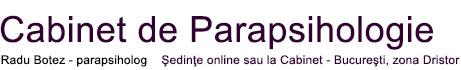 Cabinet OnLine de Parapsihologie – Radu Botez